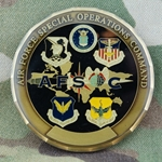01 Challenge Coins in Order, United States Air Force (USAF)