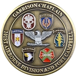 Garrison Chaplain, 101st Airborne Division and Fort Campbell
