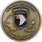 101st Airborne Division (Air Assault), Operation Iraqi Freedom