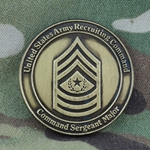 U.S. Army Recruiting Command (USAREC), CSM, Type 1