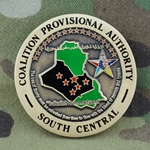 Coalition Provisional Authority, South Central, Type 1
