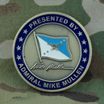 Chairman, Joint Chiefs of Staff, Admiral Michael (Mike) Mullen, Type 2