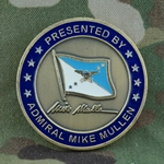 Chairman, Joint Chiefs of Staff, Admiral Michael (Mike) Mullen, Type 3