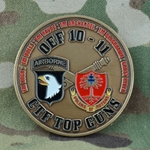 "1st Battalion, 320th Field Artillery Regiment ""Top Guns"" (♥), Type 1"