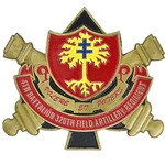 "4th Battalion, 320th Field Artillery Regiment ""Guns Of Glory"", Type 1"