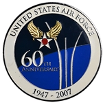 60th Anniversary, United States Air Force, 1947-2007, Type 1