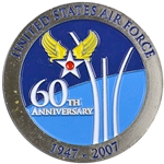60th Anniversary, United States Air Force, 1947-2007, Type 2