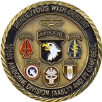 101st Airborne Division (Air Assault) and Fort Campbell, Type 1