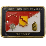 "1st Squadron, 32nd Cavalry Regiment ""Bandits"" (♣), Type 2"