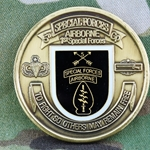 5th Special Forces Group (Airborne), CW5 John L. Schuler, Type 1, Trade