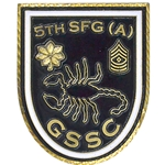 GSSC, 5th Special Forces Group (Airborne), Type 1