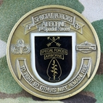 5th Special Forces Group (Airborne), CIB 2 Awd/ For Excellence, Type 9