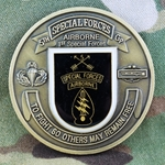 5th Special Forces Group (Airborne), CIB 3 Awd/ For Excellence, Type 1