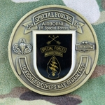 5th Special Forces Group (Airborne), CIB 3 Awd/ For Excellence, Type 1, Trade