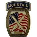 Task Force 1st Battalion, 87th Infantry Regiment , 10th Mountain Division (LI), Type 1