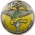 160th Special Operations Aviation Regiment (Airborne), Flight Medics, Type 1