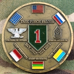 Task Force Falcon, 1st Infantry Division, Big Red One, Type 2