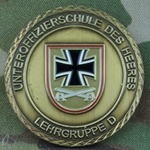 Unteroffizerschule Des Heeres, Lehrgruppe D  - NCO School of the Army, Teaching Group D, Type 1