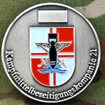 Kampfmittelbesitigungskompanie 21 - Weapons Extraction Company 21, Type 1