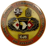 101st Airborne Division (Air Assault), AC of S, G-6, CJ6, Type 1
